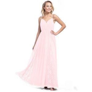 Blushing Pink Azazie Bridesmaid Dress